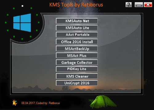 Ratiborus KMS Tools 08.04.2017 Portable