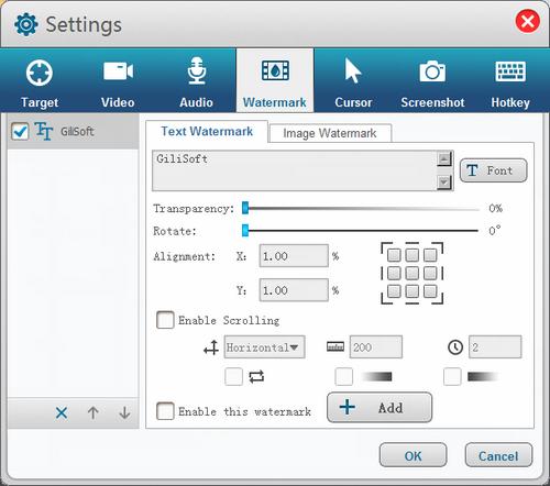 GiliSoft Screen Recorder 7.3.0