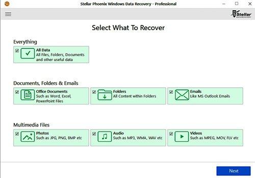 Stellar Windows Data Recovery Professional + Technician 7.0.0.3/12.10.2017 + Portable